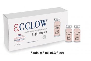 MOISTURIZING+REGENERATING SERUM LIGHT BROWN ACGLOW